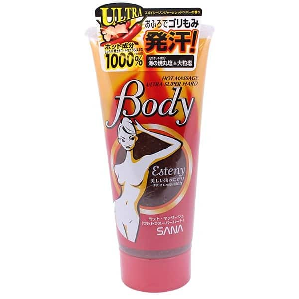 esteny body hot massage gel cua nhat ban
