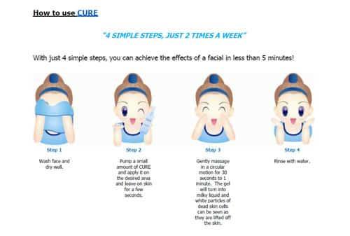 huong dan su dung cute natural aqua gel