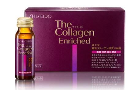 Kết quả hình ảnh cho collagen shiseido