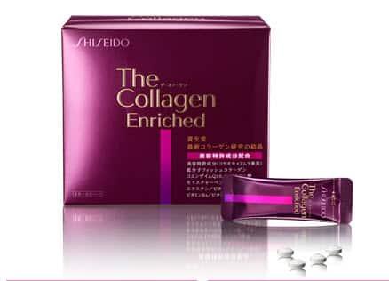 Kết quả hình ảnh cho Collagen Enriched Shiseido