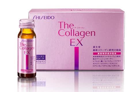 Kết quả hình ảnh cho Collagen EX Shiseido