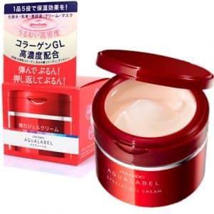 kem duong am shiseido aqualabel nhat ban