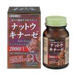 Thuốc chống đột quỵ nhật bản orihiro Nattokinase 2000FU 2021 2022