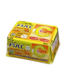 Mặt nạ cc melano của Nhật Bản 20 miếng
