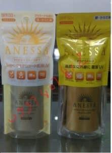 Kem chong nang Anessa Shiseido mau moi