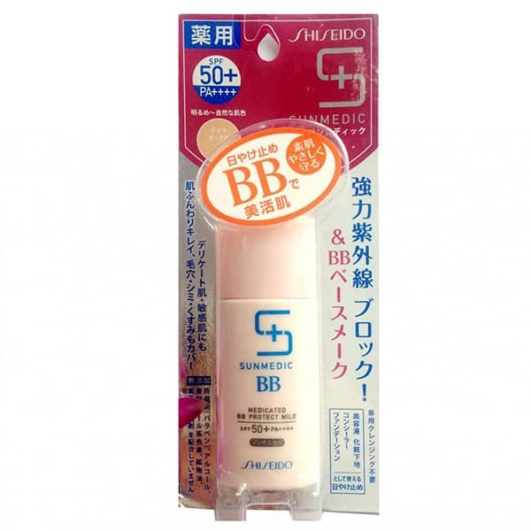kem-nen-shiseido-sunmedic UV Medicated BB cream-cua-nhat