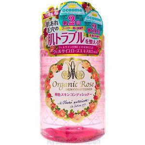 nuoc hoa hong meishoku organic rose skin conditioner 200ml