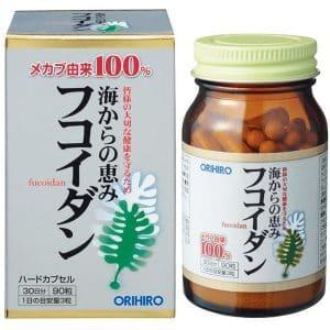 fucoidan orihiro Nhật 2020