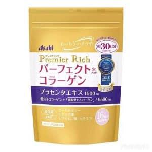 collagen asahi premier rich cho tuoi 40