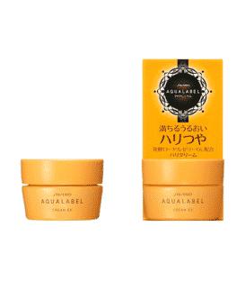 kem duong shiseido aqualabel cream ex mau vang 2017