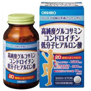Orihiro Glucosamine 3 trong 1