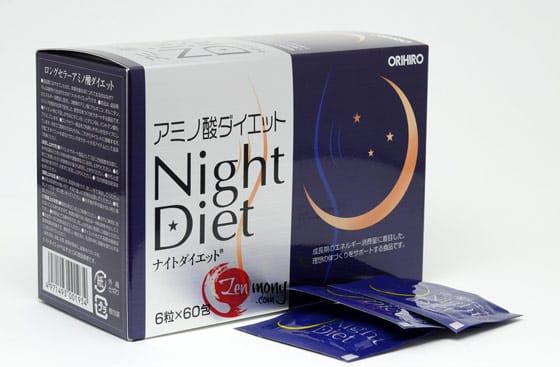 Viên uống giảm cân Orihiro Night Diet có tốt không?