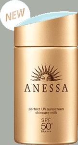 Kem chống nắng Anesa vàng mẫu mới 2018