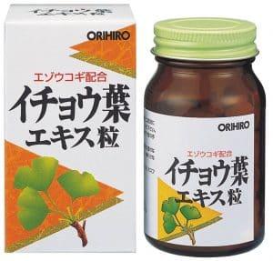 Thuốc bổ não Orihiro Ginkgo Biloba 2021
