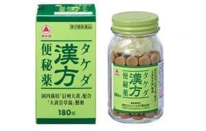 thuốc trị táo bón takeda của Nhật