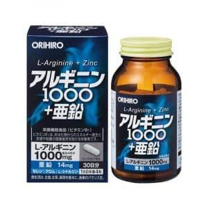 L-Arginine Zinc Orihiro-0