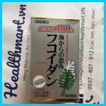 Review fucoidan Orihiro Nhật 2021 2022