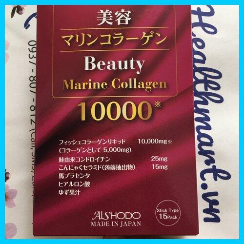 Thạch collagen Marine của Nhật 2021