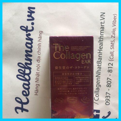 Review collagen shiseido exr dạng viên Nhật 2021 2022