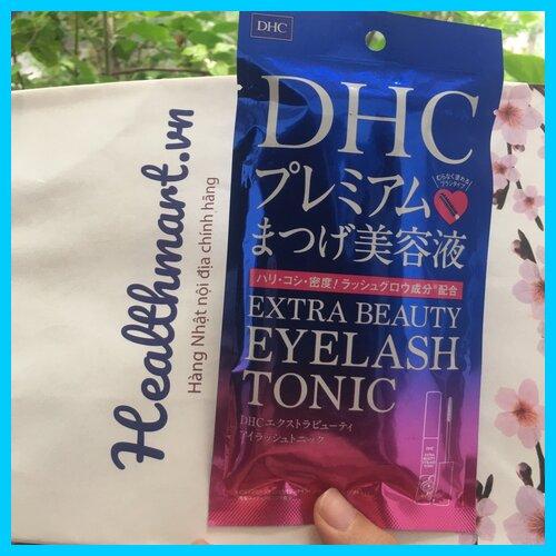 Review dưỡng mi dhc extra beauty Nhật 2021 2022