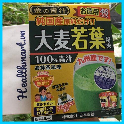 Review bột lá barley golden Nhật 2021 2022