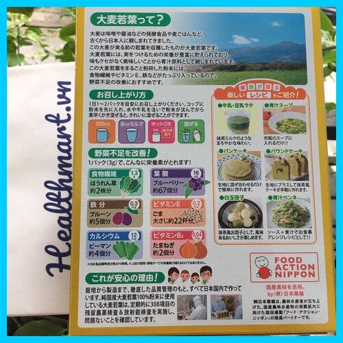 Review bột lá barley golden của Nhật 2021 2022