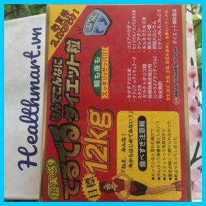 Review thuốc giảm cân 12kg Deru Deru Nhật 2021 2022