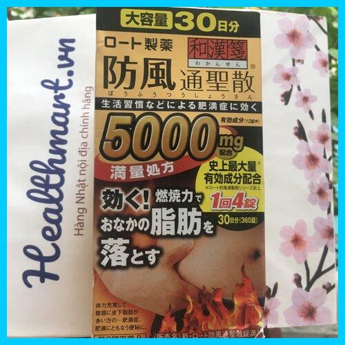 review giảm cân Rohto 5000 Nhật 2022