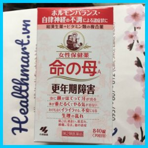 Review tiền mãn kinh kobayashi Nhật 2021 2022