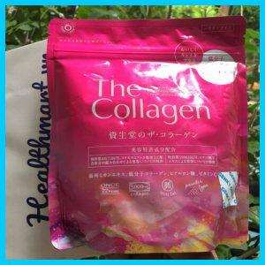 Review bột collagen shiseido của Nhật 2021 2022