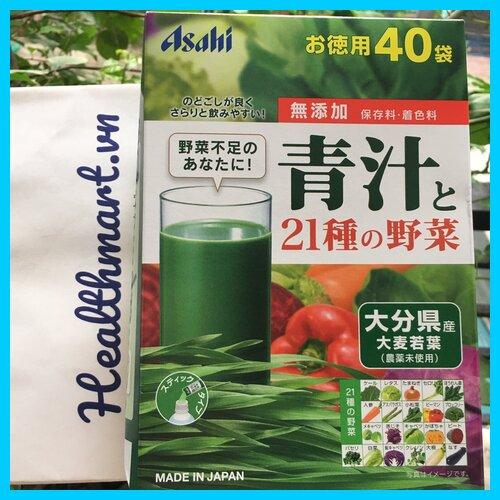 Review bột rau asahi Nhật 2021 2022