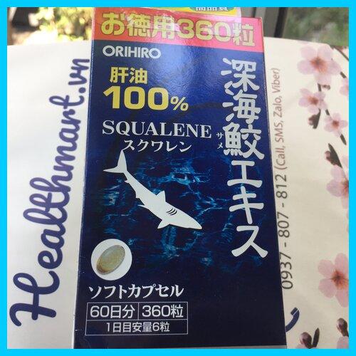 Review dầu gan cá mập Orihiro Nhật 2021 2022