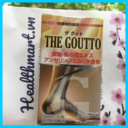 Review thuốc the goutto Nhật 2021 2022