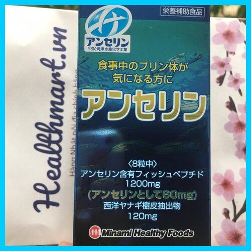 Review thuốc gout Minami Nhật 2021 2022