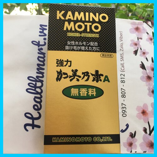 Review Kaminomoto higher strength Nhật 2021 2022