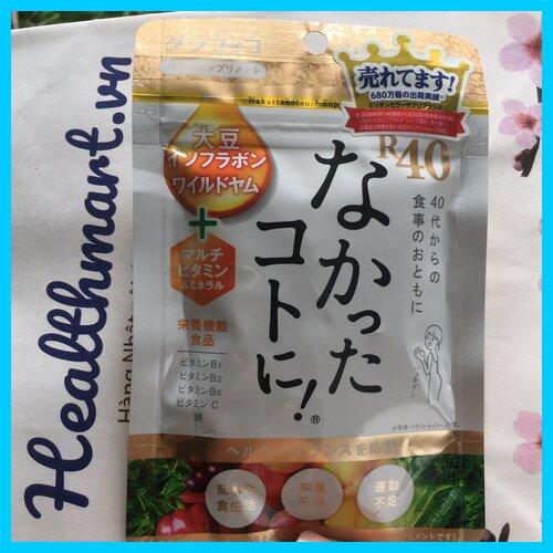 Chống hấp thụ calories của Nhật 2021