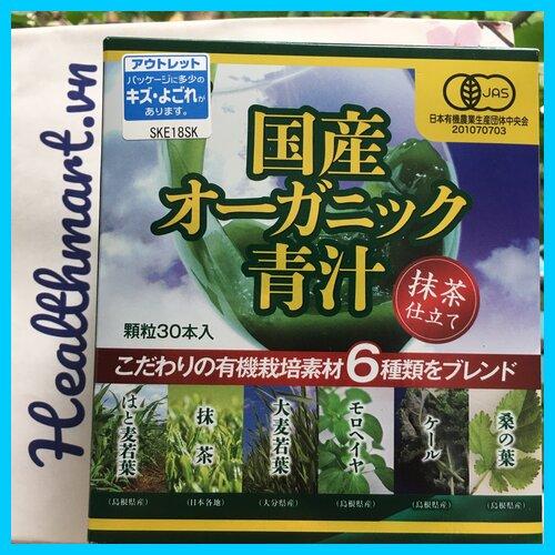 Review bột rau xanh Orihiro Nhật 2021 2022