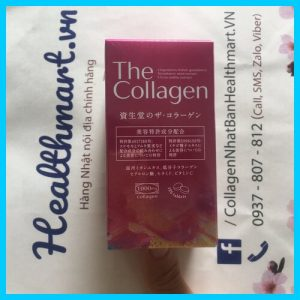 Review collagen shiseido dạng viện Nhật 2021 2022