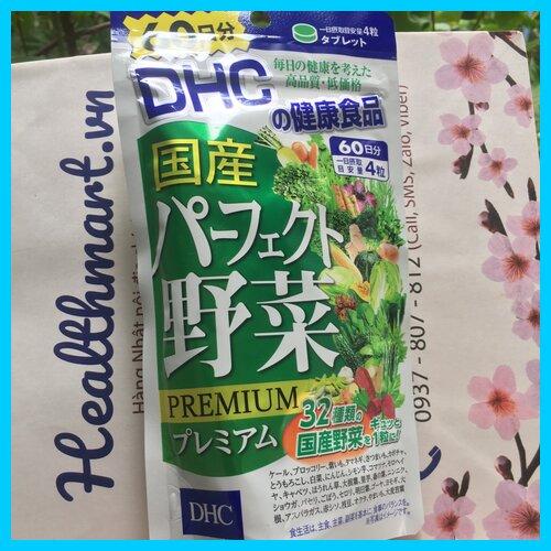 Review viên rau dhc của Nhật 2021 2022