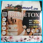 Review giảm cân dr detoxi 4d của Nhật 2021 2022