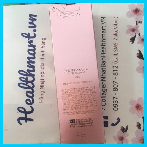 Review kem nở ngực dhc Nhật 2021 2022