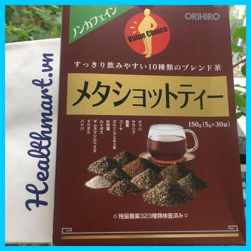 Review trà giảm mỡ bụng meta shot orihiro Nhật 2021 2022