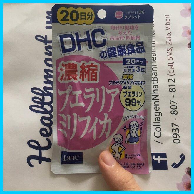 Review viên nở ngực dhc este Nhật 2021 2022