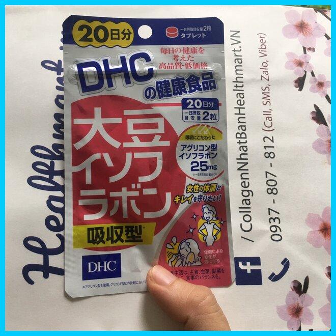 DHC mầm đậu nành Nhật 2021 2022 hot
