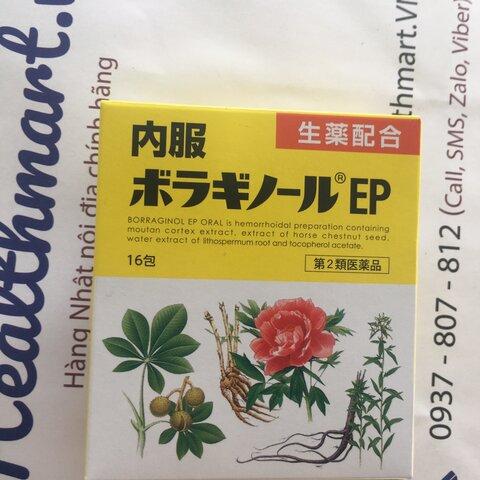 Review thuốc trĩ borraginol Nhật