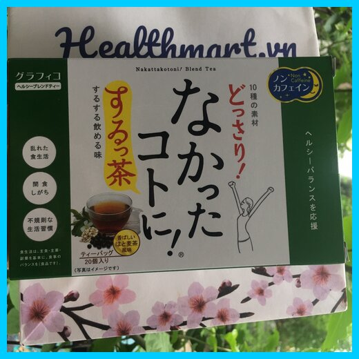 Review trà giảm cân Nakata Nhật 2021 2022