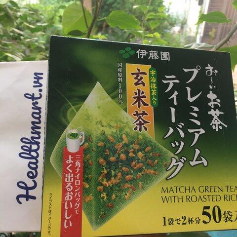 Review trà xanh gạo lức IToen Nhật 2021 2022