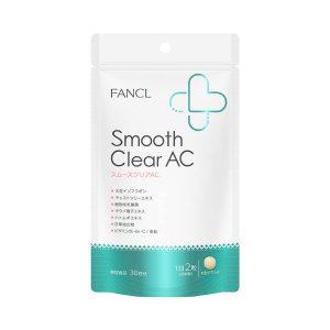 Viên trị mụn Fancl smooth acne Nhật 2021 2022